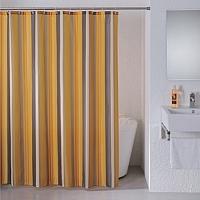Текстильная шторка для ванной Milardo 710P180M11 -