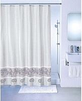 Текстильная шторка для ванной Milardo SCMI 012P -