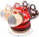 Набор для чая/кофе Perfecto Linea 30-803411 (белый горошек) -