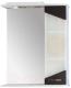 Шкаф с зеркалом для ванной Eva Gold Калипсо 60 -