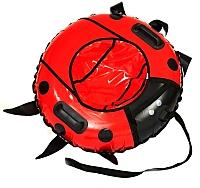 Тюбинг-ватрушка Bubo Beetle 1000мм (красный) -