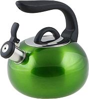 Чайник со свистком Perfecto Linea Focus 52-027013 (зеленый металлик) -