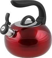 Чайник со свистком Perfecto Linea Focus 52-027015 (красный металлик) -
