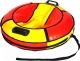 Тюбинг Bubo Comfort 800мм (красный/желтый) -