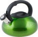 Чайник со свистком Perfecto Linea Ufo 52-029013 (зеленый металлик) -