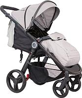 Детская прогулочная коляска Coletto Joggy (серый/черный) -