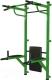 Турник-брусья Формула здоровья Комбат (зеленый/черный) -