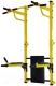 Турник-брусья Формула здоровья Рекорд (желтый/черный) -
