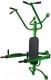 Турник-брусья Формула здоровья Легион (зеленый/черный) -