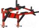 Турник-брусья Формула здоровья Антарес (красный/черный) -