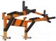 Турник-брусья Формула здоровья Антарес (оранжевый/черный) -