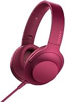 Наушники-гарнитура Sony MDR-100AAPP (малиново-розовый) -