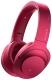Наушники-гарнитура Sony MDR-100ABNP (малиново-розовый) -