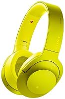 Наушники-гарнитура Sony MDR-100ABNY (лимонно-желтый) -