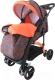 Детская прогулочная коляска Babyhit Flora (оранжевый) -