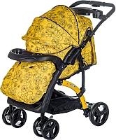 Детская прогулочная коляска Babyhit Flora (желтый) -