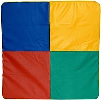 Гимнастический мат NoBrand 1x1x0.05м (кубик рубик) -