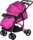 Детская прогулочная коляска Babyhit Flora (фиолетовый) -