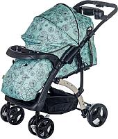 Детская прогулочная коляска Babyhit Flora (лазурный) -
