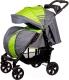 Детская прогулочная коляска Babyhit Adventure (серый/зеленый) -