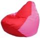 Бескаркасное кресло Flagman Груша Мини Г0.1-175 (красный/розовый) -