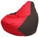 Бескаркасное кресло Flagman Груша Мини Г0.1-177 (красный/коричневый) -