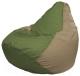 Бескаркасное кресло Flagman Груша Мини Г0.1-190 (оливковый/темно-бежевый) -