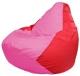 Бескаркасное кресло Flagman Груша Мини Г0.1-199 (розовый/красный) -