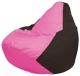 Бескаркасное кресло Flagman Груша Мини Г0.1-200 (розовый/коричневый) -