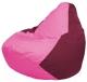 Бескаркасное кресло Flagman Груша Мини Г0.1-203 (розовый/бордовый) -