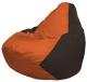 Бескаркасное кресло Flagman Груша Мини Г0.1-218 (оранжевый/коричневый) -