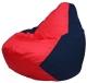 Бескаркасное кресло Flagman Груша Мини Г0.1-234 (красный/темно-синий) -
