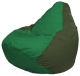 Бескаркасное кресло Flagman Груша Мини Г0.1-236 (зеленый/темно-оливковый) -