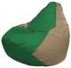 Бескаркасное кресло Flagman Груша Мини Г0.1-237 (зеленый/темно-бежевый) -