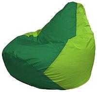 Бескаркасное кресло Flagman Груша Мини Г0.1-241 (зеленый/салатовый) -