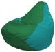 Бескаркасное кресло Flagman Груша Мини Г0.1-243 (зеленый/бирюзовый) -