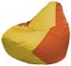 Бескаркасное кресло Flagman Груша Мини Г0.1-258 (желтый/оранжевый) -