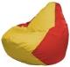 Бескаркасное кресло Flagman Груша Мини Г0.1-260 (желтый/красный) -