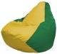 Бескаркасное кресло Flagman Груша Мини Г0.1-262 (желтый/зеленый) -
