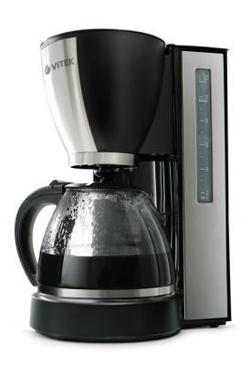Капельная кофеварка Vitek VT-1509 - вид сбоку