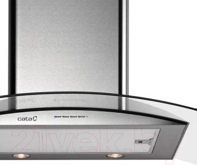 Вытяжка купольная Cata Gamma (60, нержавейка/стекло) - вид спереди