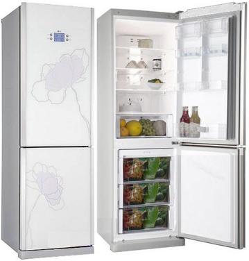 Холодильник с морозильником LG GA-B399 TGAT - общий вид