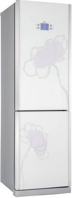 Холодильник с морозильником LG GA-B399 TGAT - вид спереди