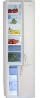Холодильник с морозильником MasterCook LCE-620A - вид спереди