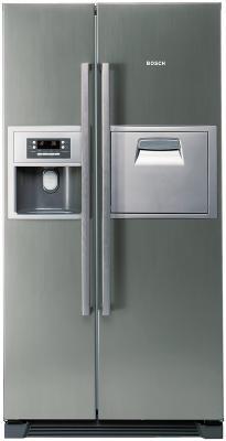Холодильник с морозильником Bosch KAN60A40 - вид спереди