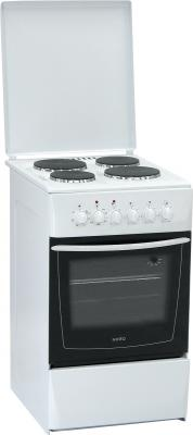 Кухонная плита Nord ЭП-4.00 White - общий вид