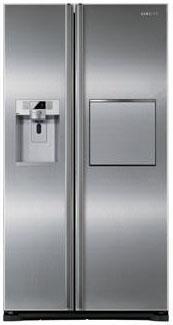 Холодильник с морозильником Samsung RSG5FURS1 - Вид спереди