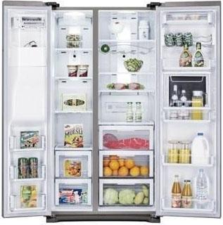 Холодильник с морозильником Samsung RSG5FURS1 - Общий вид