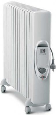 Масляный радиатор DeLonghi TRS W 1225 - общий вид