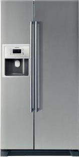 Холодильник с морозильником Siemens KA58NA75RU - общий вид